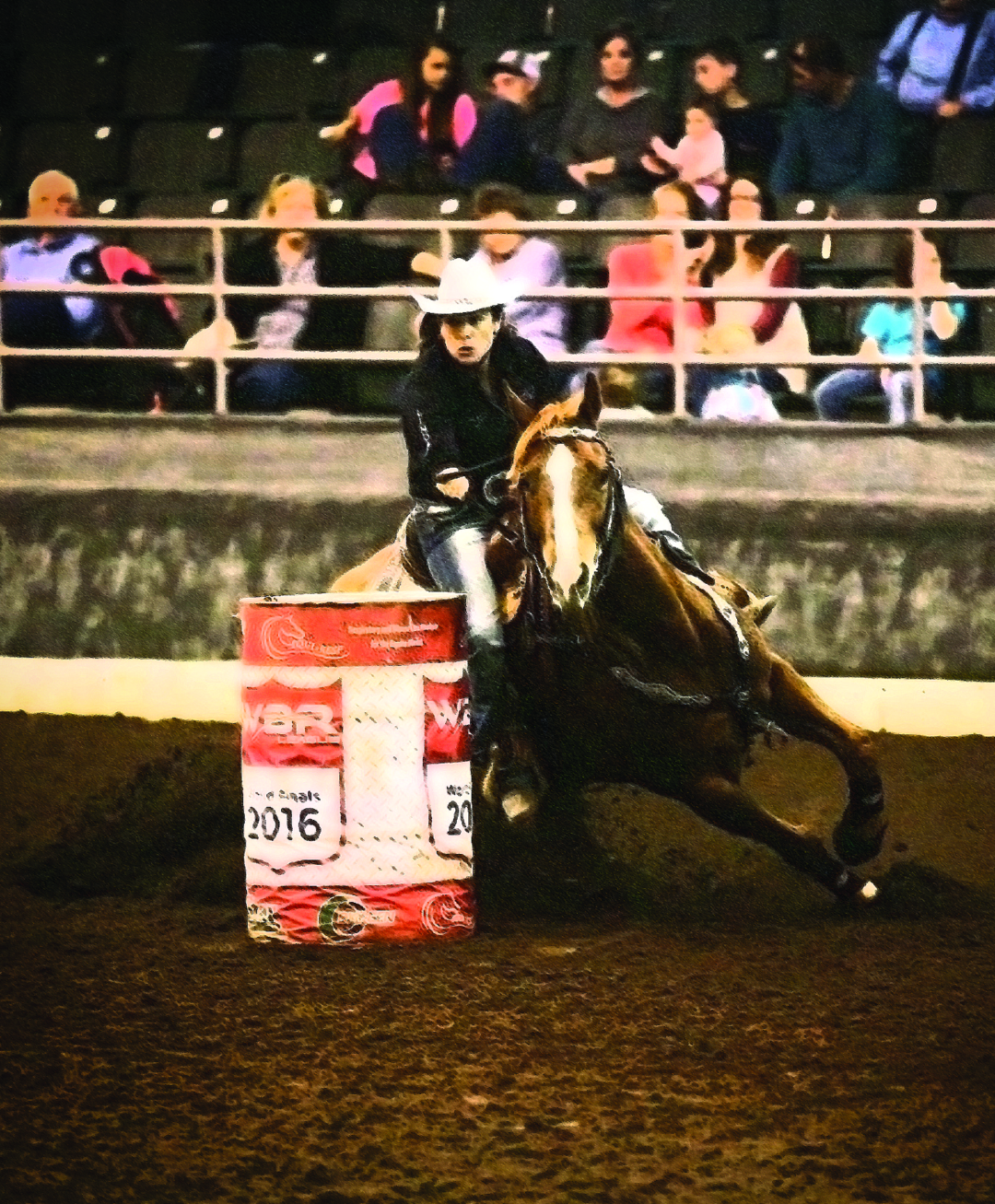 Page 26 of Roll Past the Barrel! Barrel Racing is Turning Everything Around.