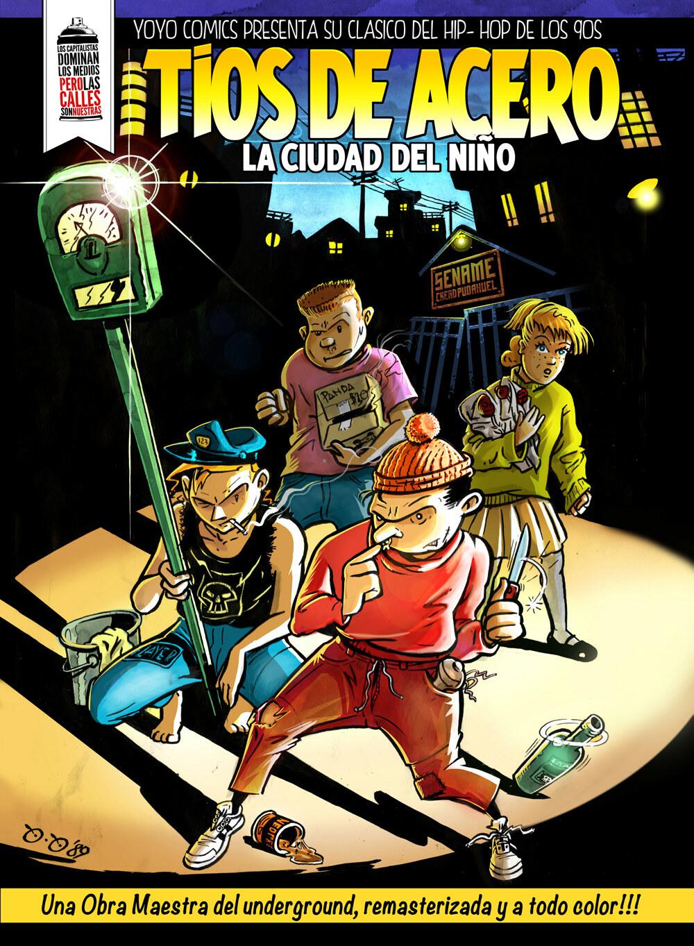 Page 1 of COMIC TIOS DE ACERO REMASTERIZADO