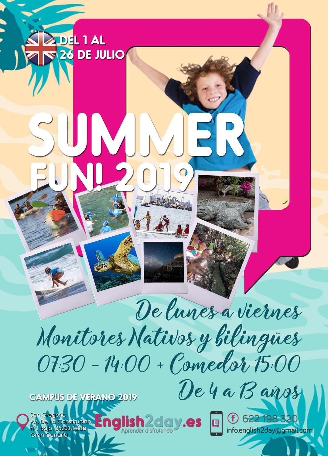 Page 1 of SUMMER FUN! 2019