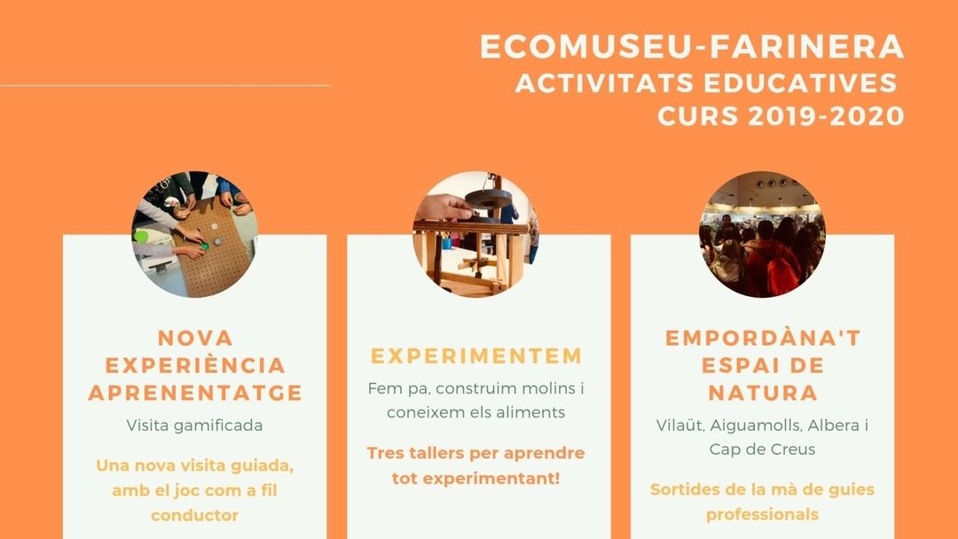 Page 1 of Ecomuseu-Farinera Activitats educatives