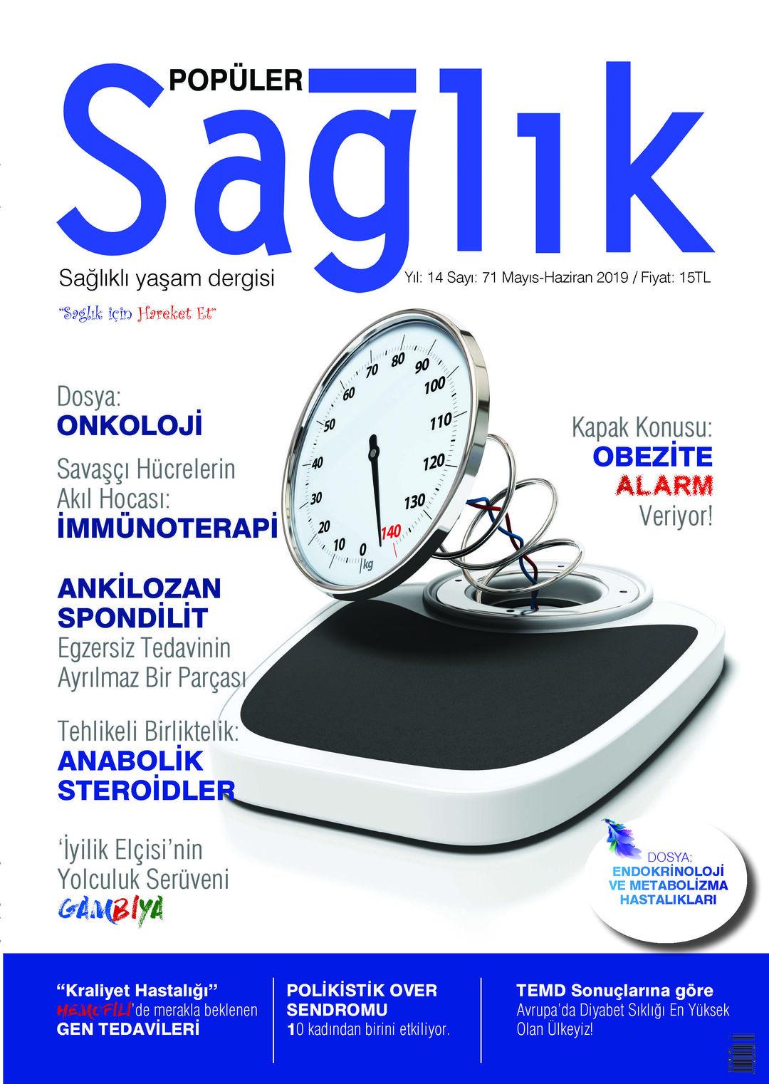 Page 1 of Popüler Sağlık Dergisi