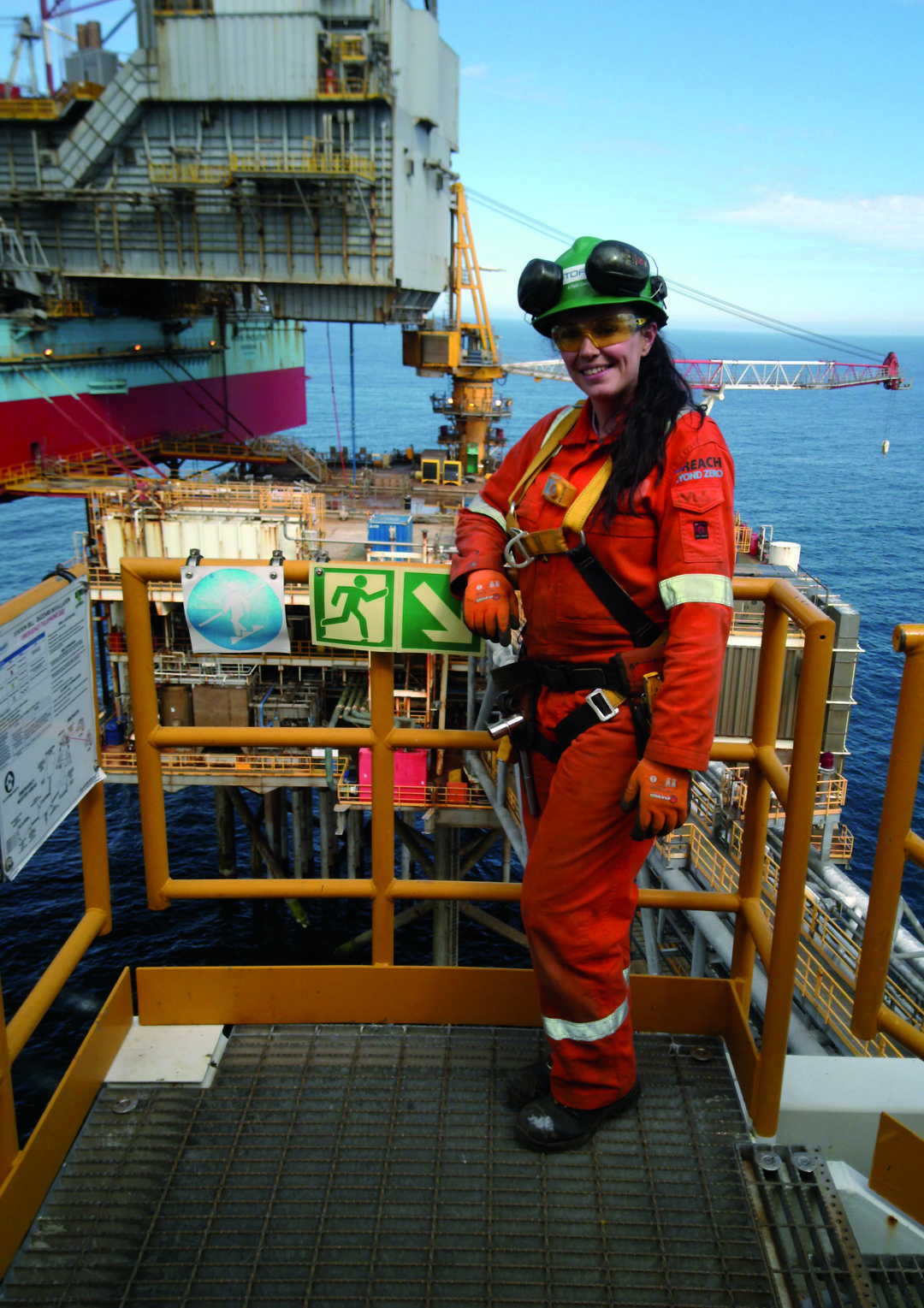 Page 14 of Stork's First Female Scaffolder Undertakes Her Inaugural Trip Offshore