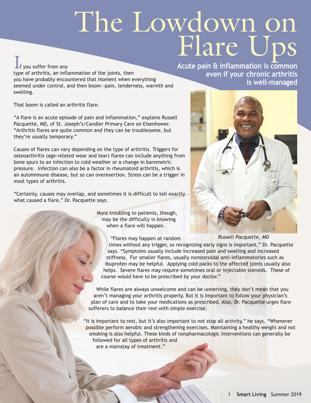 Page 3 of The Lowdown on Flare Ups