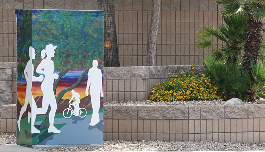 Page 7 of Public Art Adds a Splash of Color to the city of Goodyear, Arizona