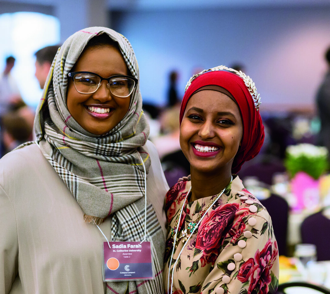 Page 16 of Around Campus: 2019 Campus Compact Summit Gives Honors