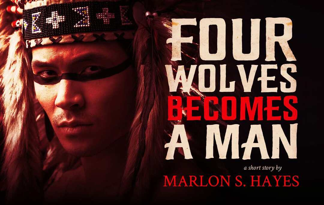 Page 124 of Four Wolves Becomes a Man