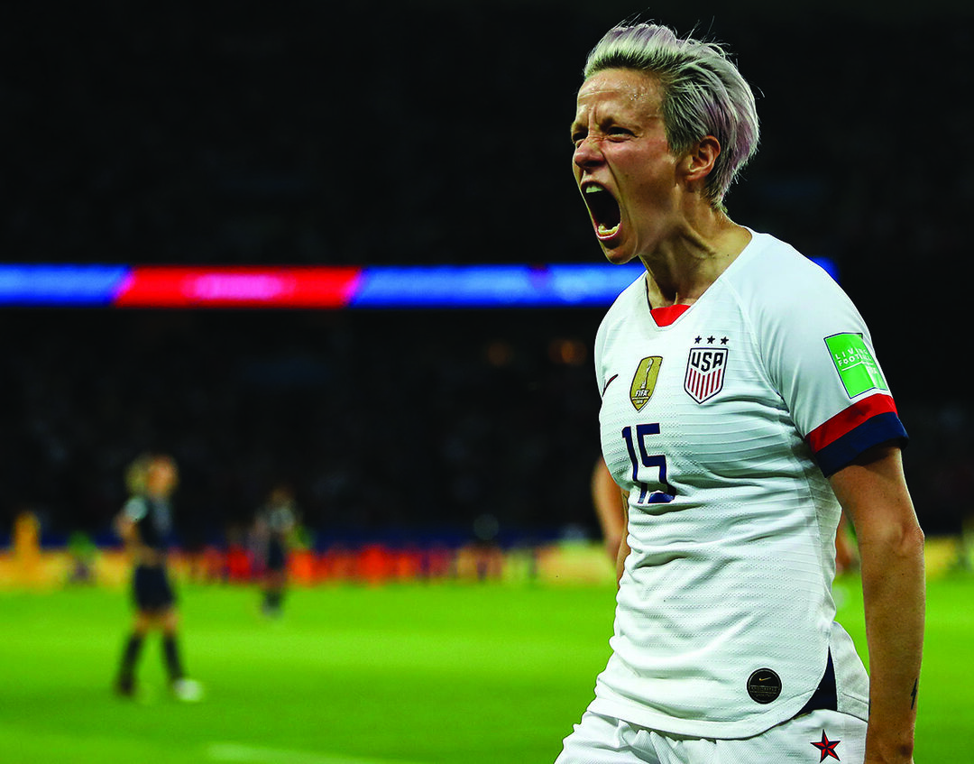 Read story: US women's soccer team on top of world