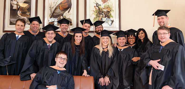 Page 18 of A Cause for Celebration: First EMBA Healthcare Cohort Graduates