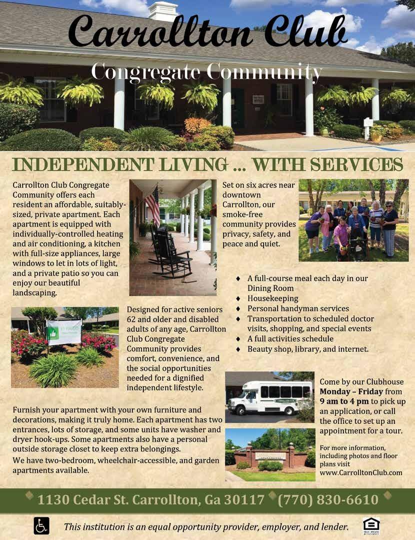 Page 11 of Carrollton Club Congregate Community