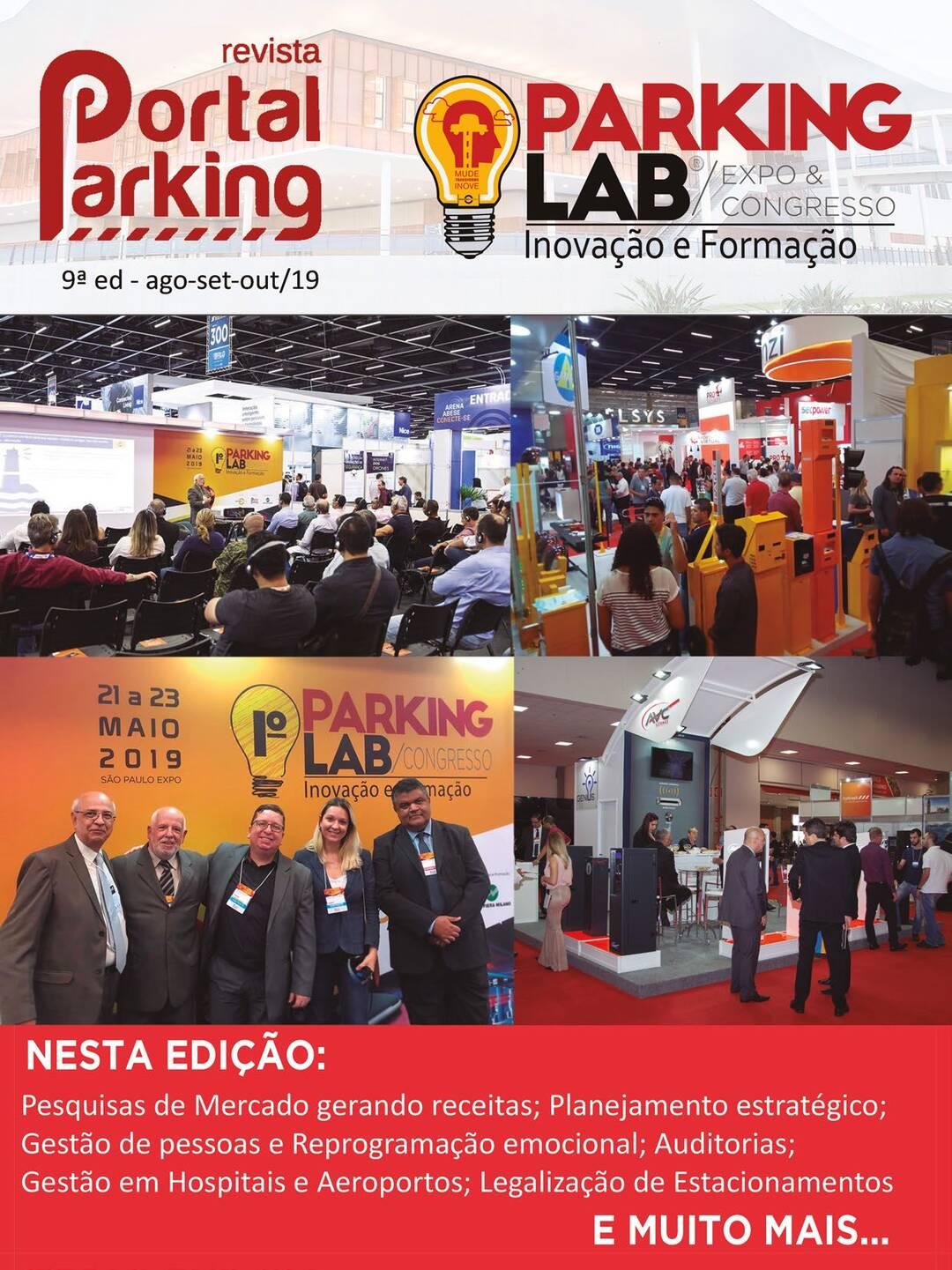 Page 1 of Revista Portal Parking, 9ª edição
