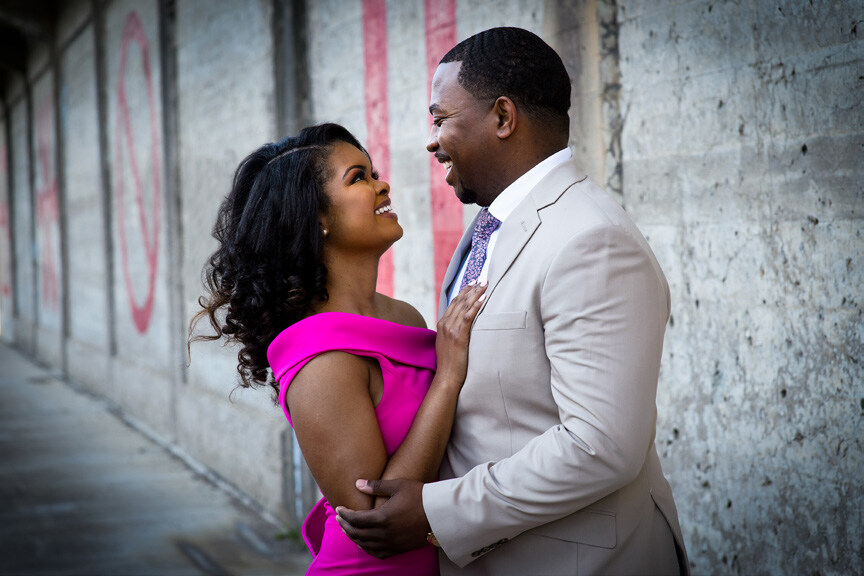 Page 94 of St. Louis Engagement Session: Denaya and Louis