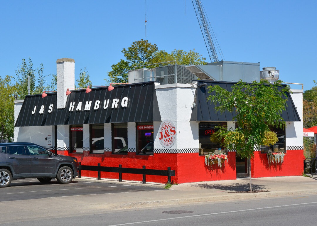 Page 64 of THEN & NOW: J&S Hamburgs (circa) 1940 302 W. FRONT ST.