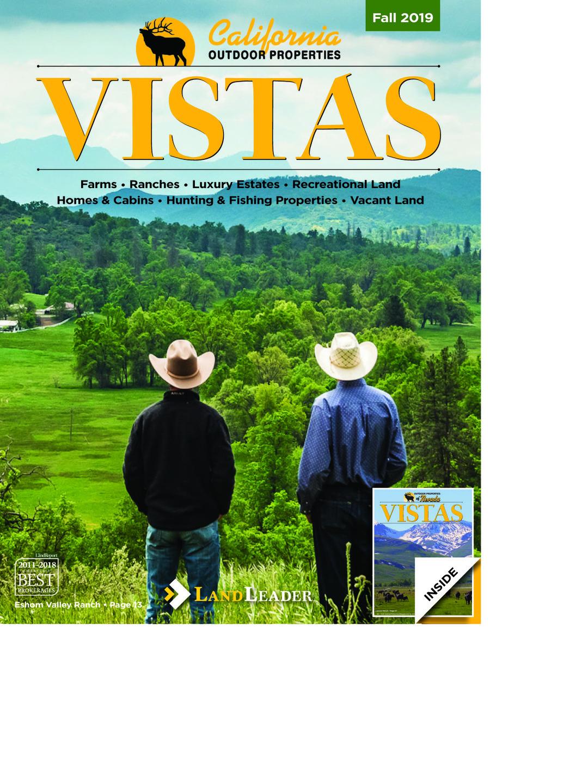Page 1 of Fall 2019 VISTAS Magazine