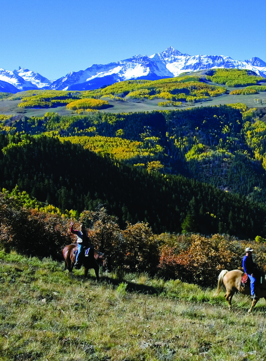 Page 30 of Pony Up: Fall Horseback Riding in Colorado