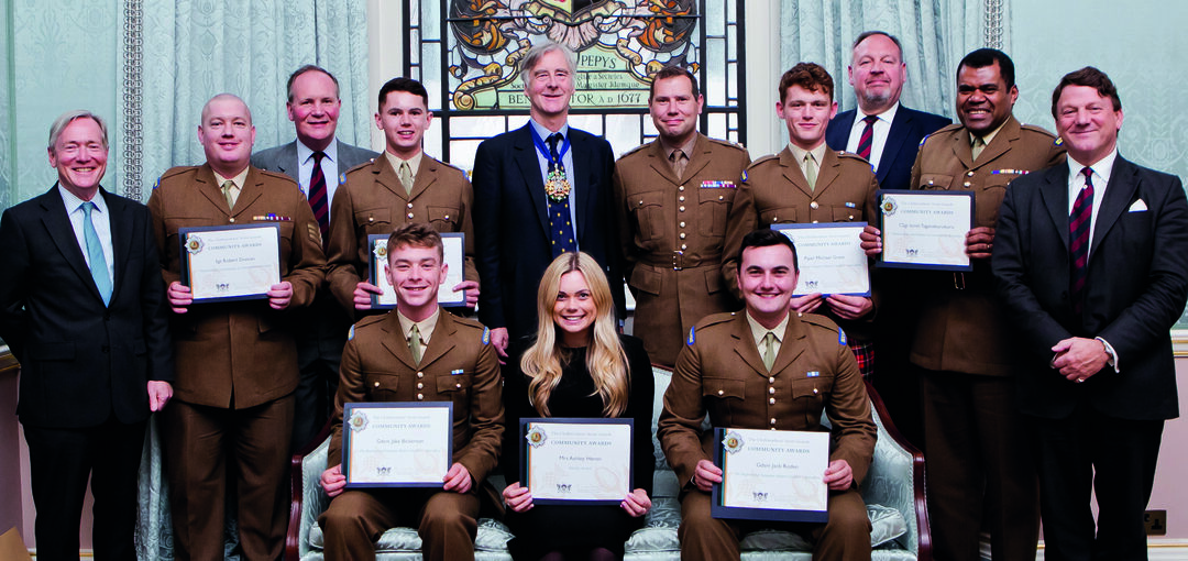 Page 18 of The Clothworkers' Scots Guards Community Awards