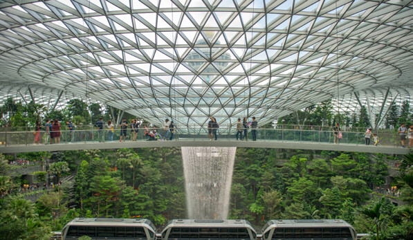 Read story: Jewel Shines for Singapore Changi Airport