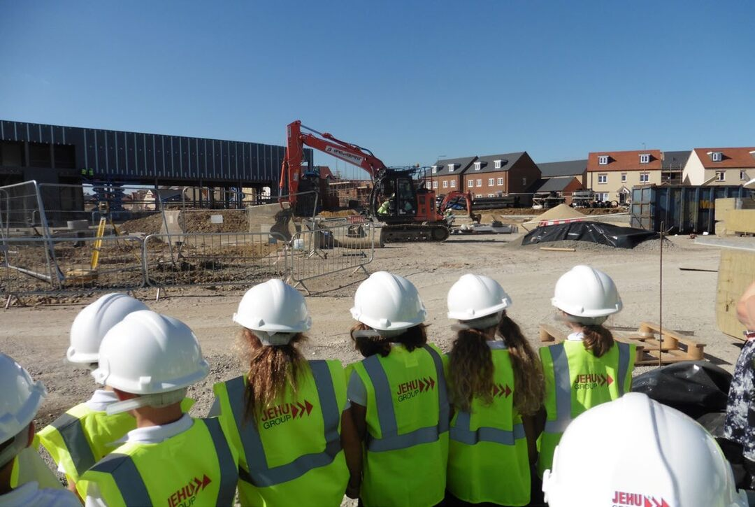 """Page 6 of St Edburg's Primary School: Year 2 Report from the """"Bicester Shopping Park"""" Building Site"""
