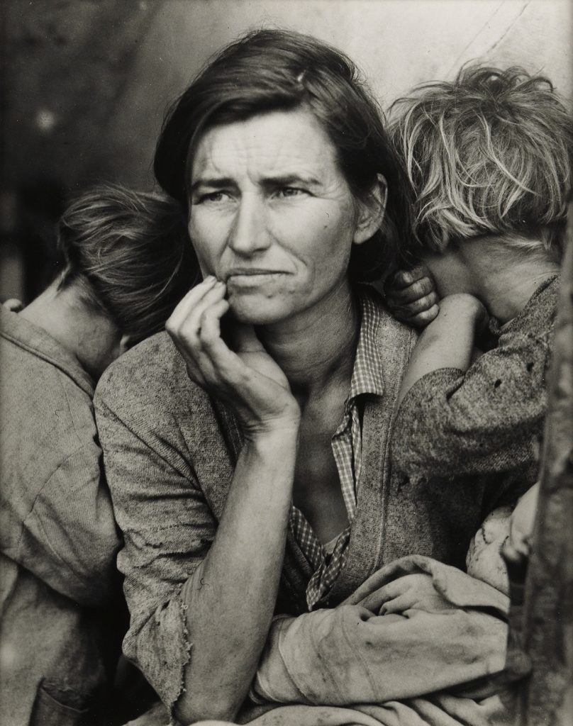 Page 52 of DOROTHEA LANGE | Migrant Mother, Nipomo, California(1936)