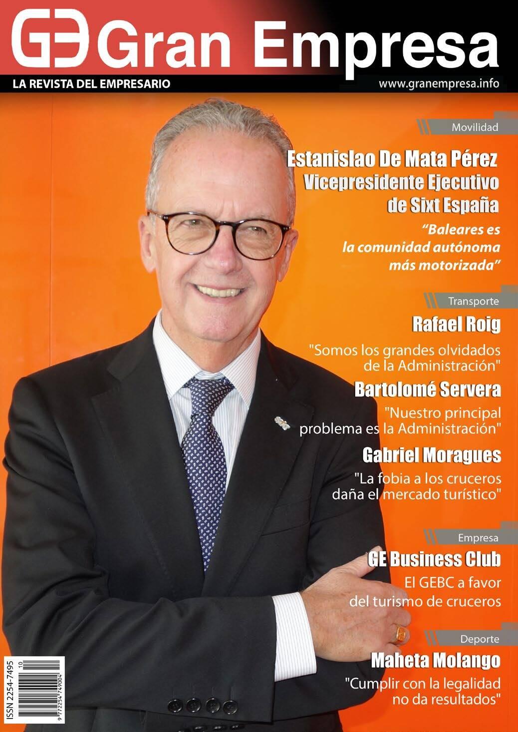 Page 1 of Revista Gran Empresa num 121 diciembre