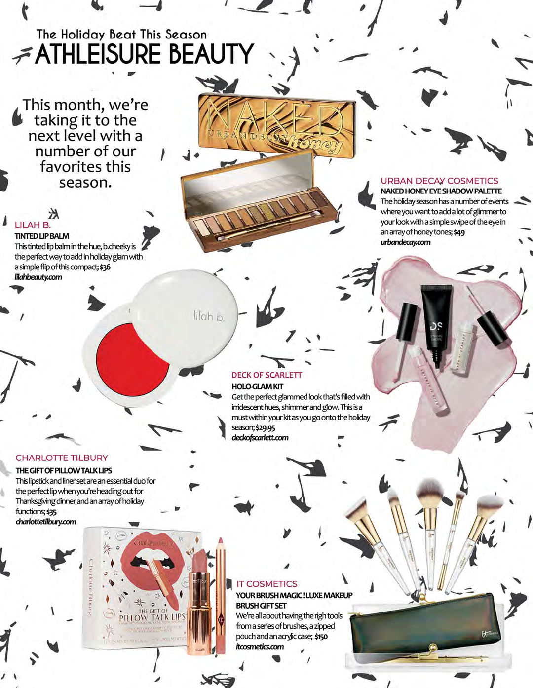 Page 129 of ATHLEISURE MAG NOV 2019 | ATHLEISURE BEAUTY