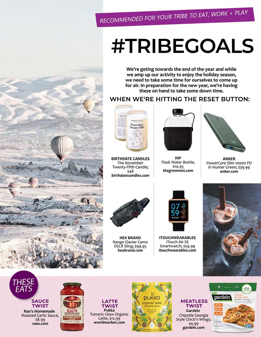 Page 136 of ATHLEISURE MAG NOV 2019 | #TRIBEGOALS