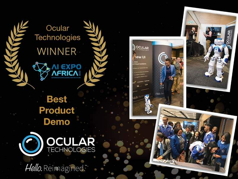 Page 10 of OCULAR TECHNOLOGIES  Winners of Best Demo at AI Expo Africa