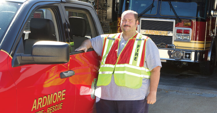 Page 12 of GIVING BACK Volunteers crucial at Ardmore Fire Department