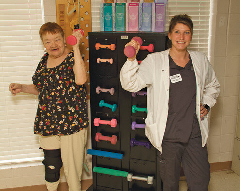 Page 8 of Serving SENIORS Elk River Health & Rehab getting new facility