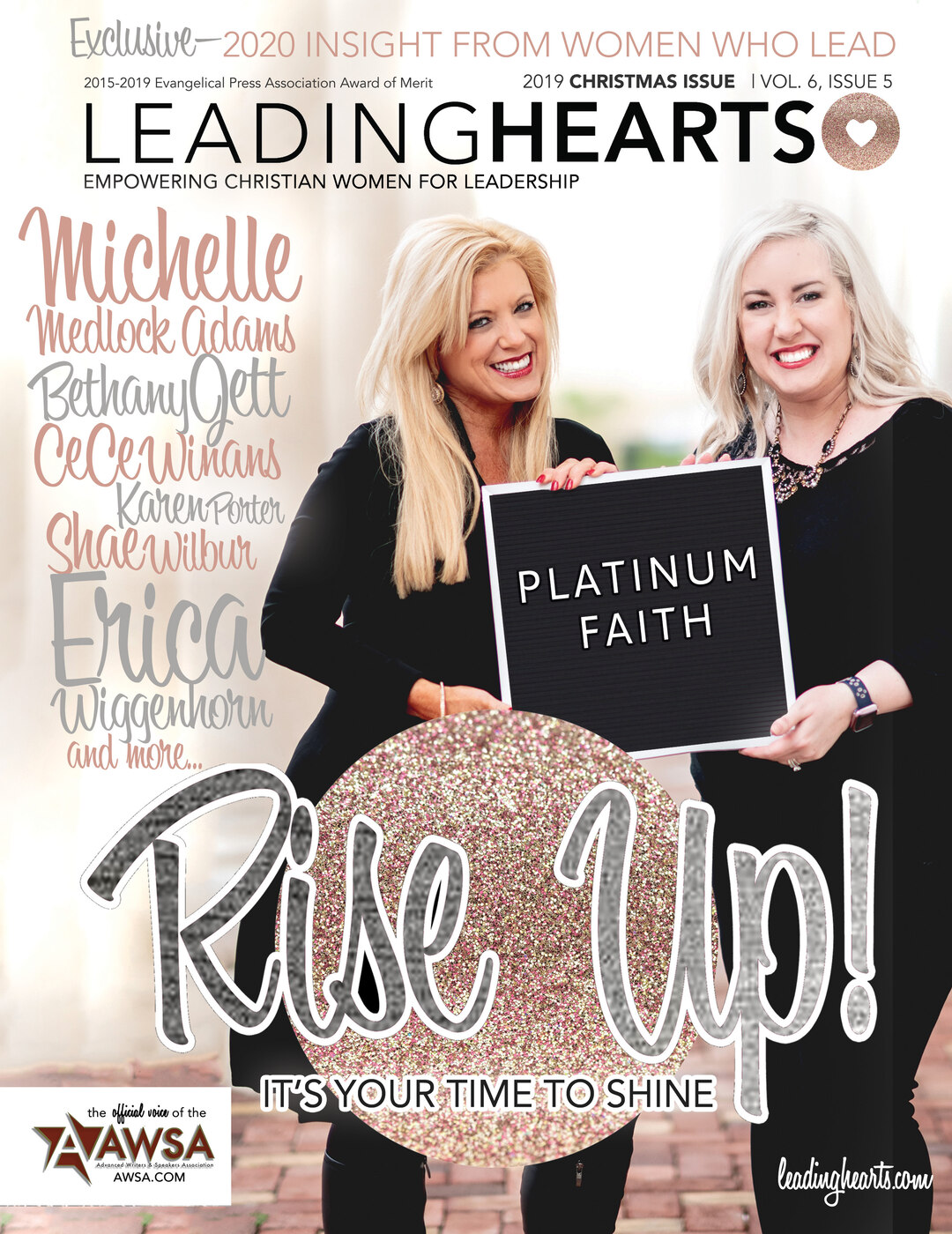 Page 1 of Michelle Medlock Adams and Bethany Jett: Platinum Strong