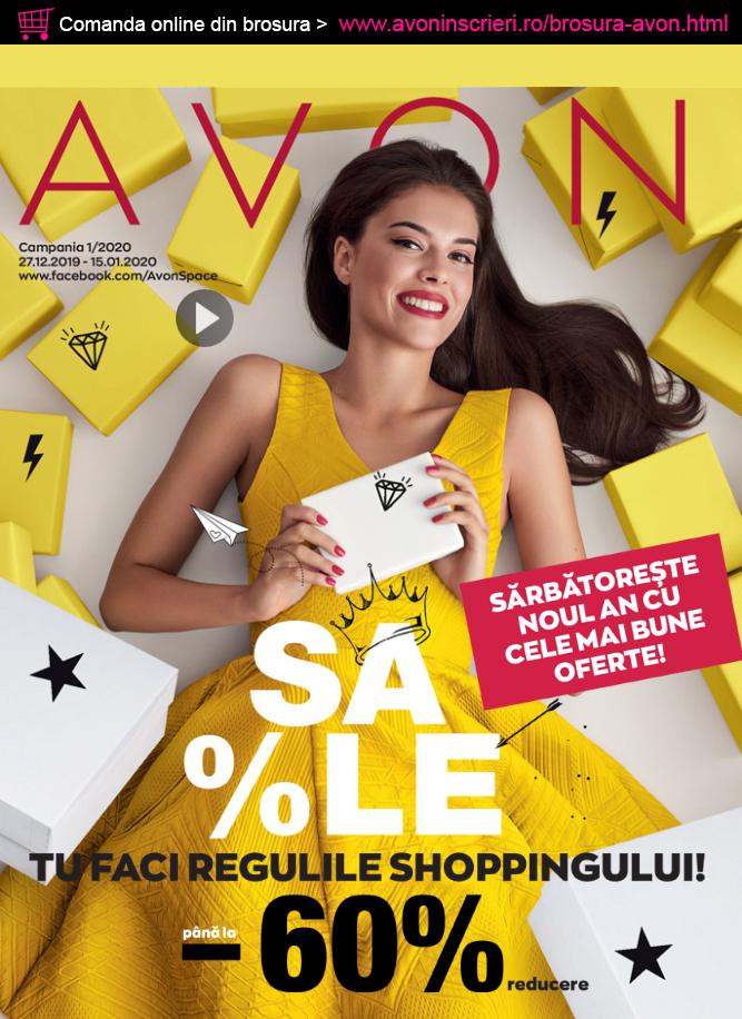 Page 1 of Brosura Avon C1 2020   AvonInscrieri.ro