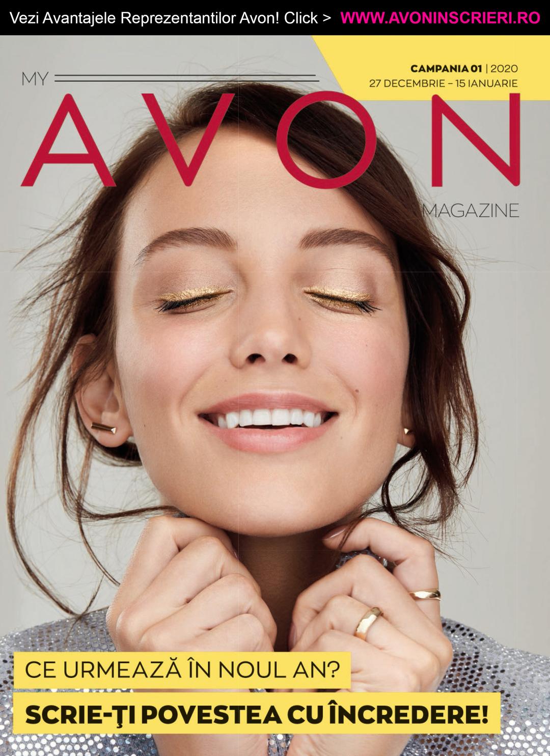 Page 1 of Revista My Avon Magazine C1 2020 - www.avoninscrieri.ro