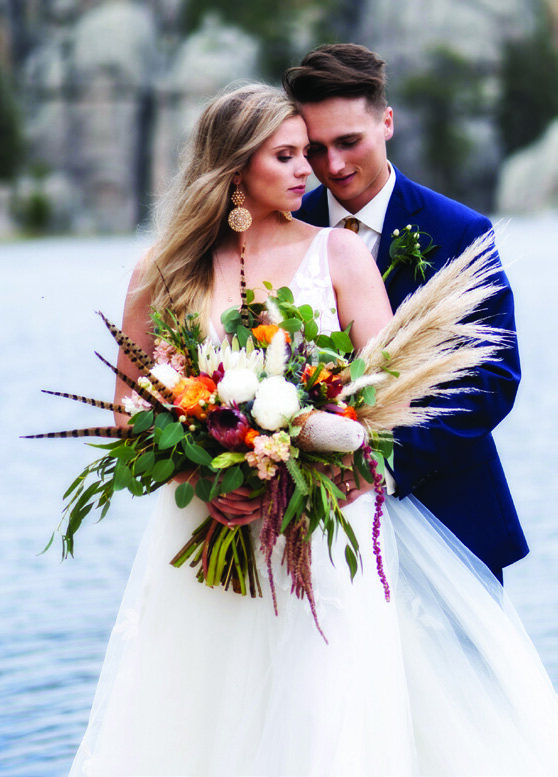 Page 12 of Black Hills Bride 2020 Cover Wedding