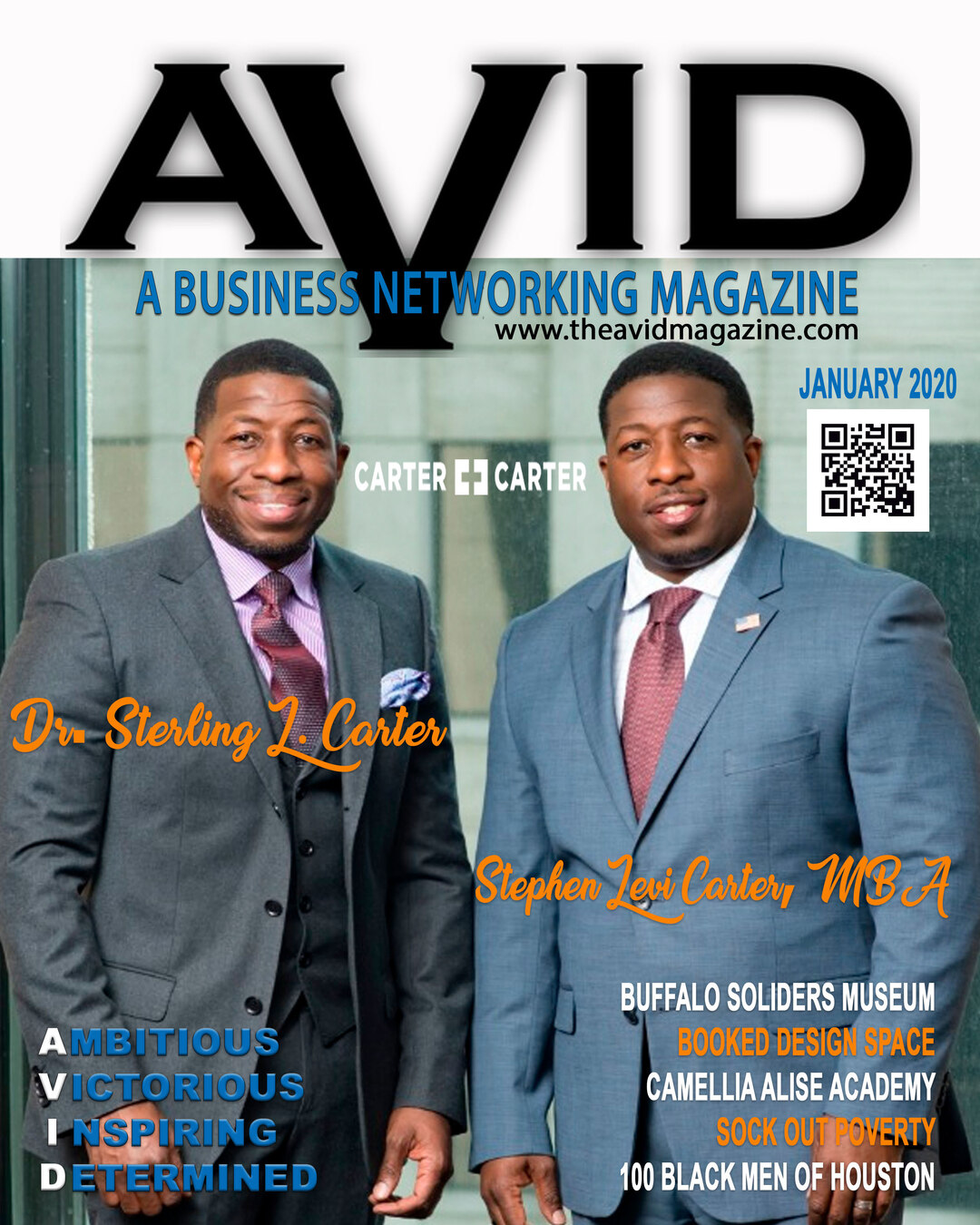 Page 1 of AVID Magazine Issue #8 January 2020