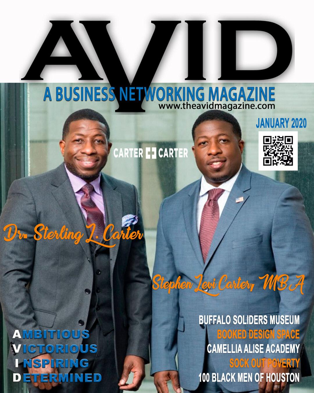Page 1 of AVID Magazine