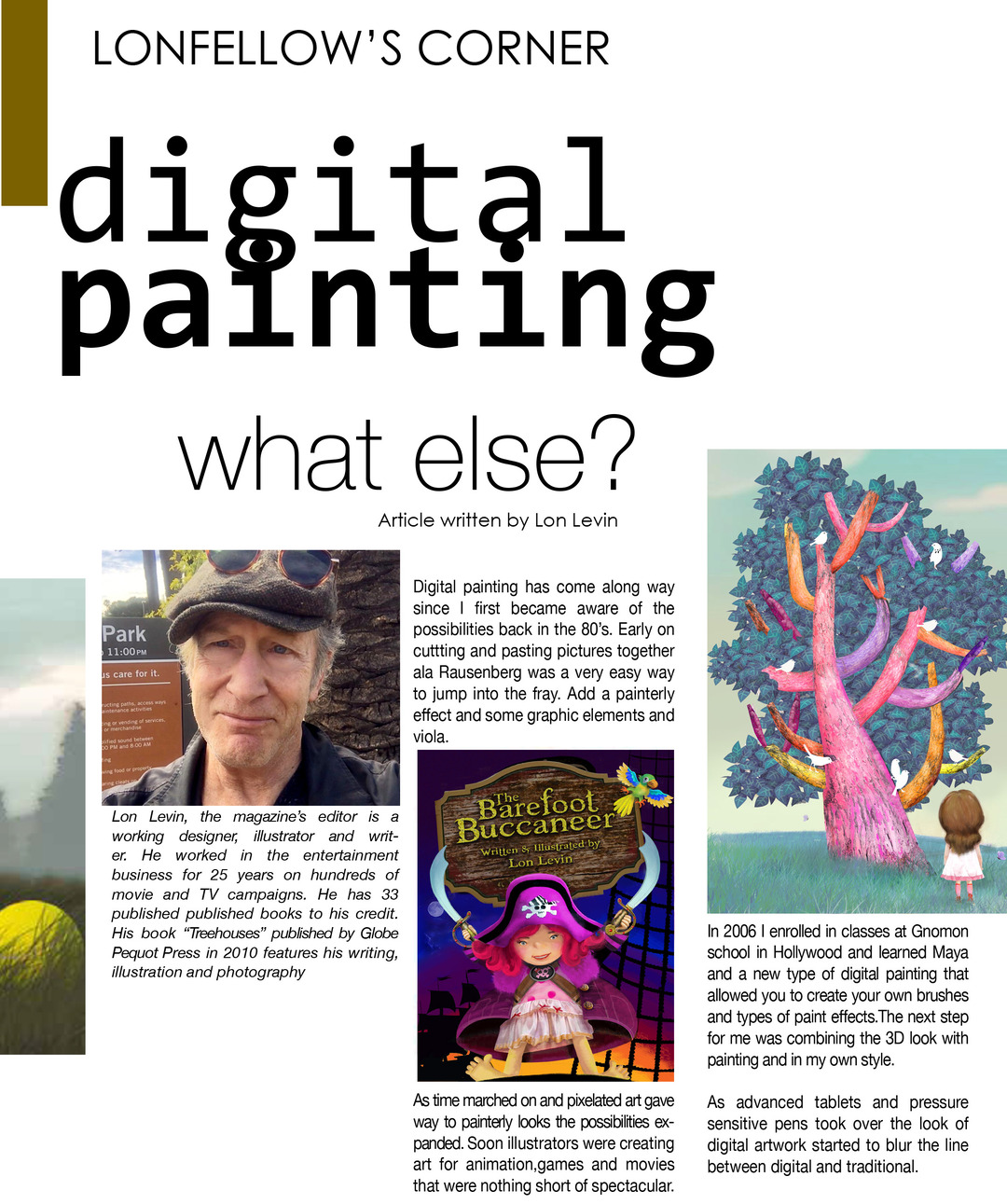 Page 34 of The Illustrators Journal Winter Edition
