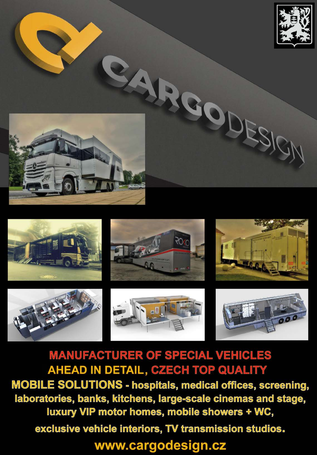 Page 8 of CARGODESIGN - Manufacturer of special vehicles