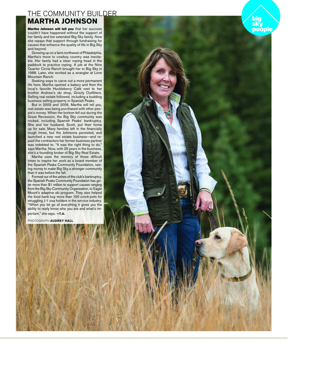 Page 61 of Big Sky People: Martha Johnson