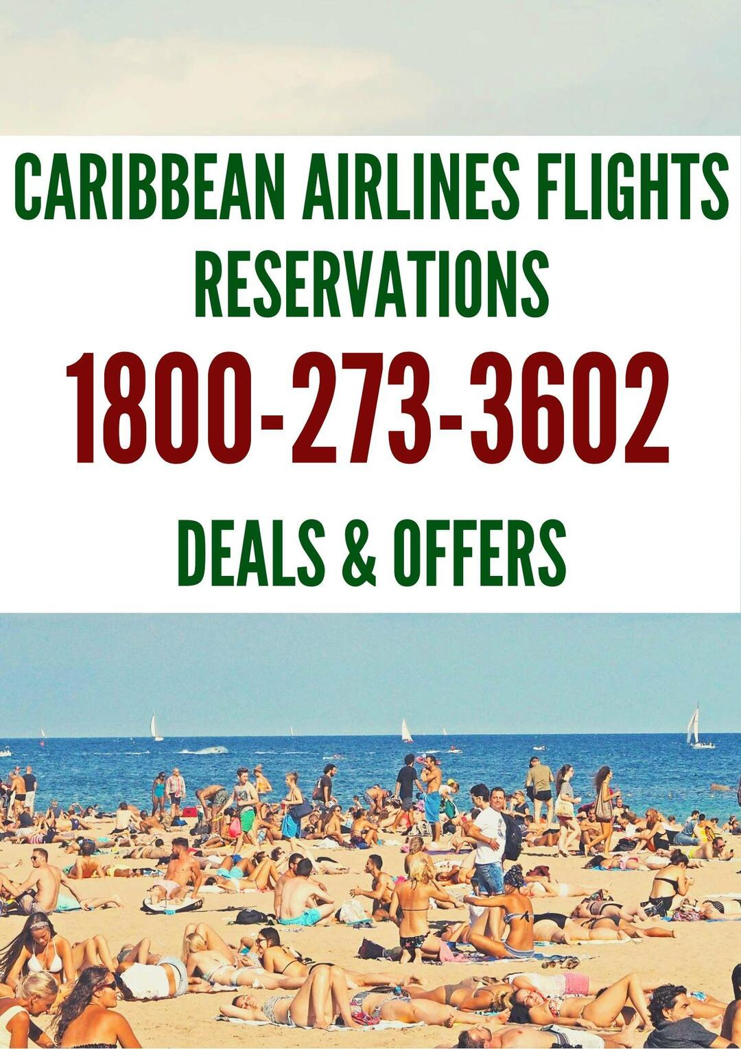 Page 1 of Caribbean Airlines Reservations Number 1800-273-3602 - Making Dreams Come True