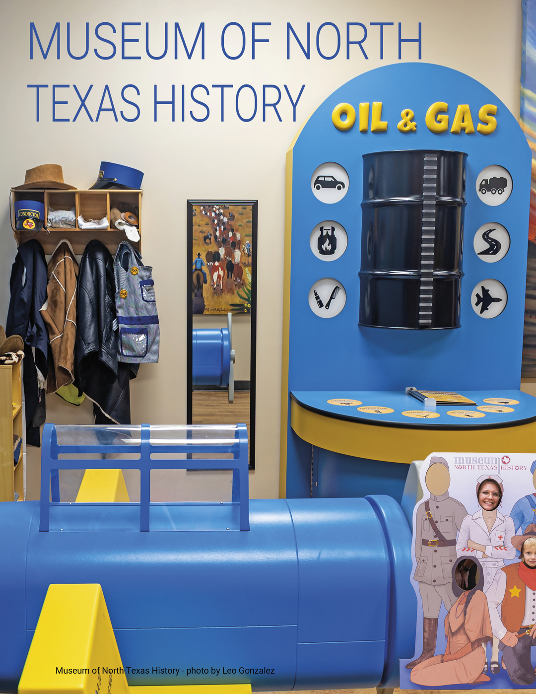 Page 14 of The Museum of North Texas History Children's Exhibit