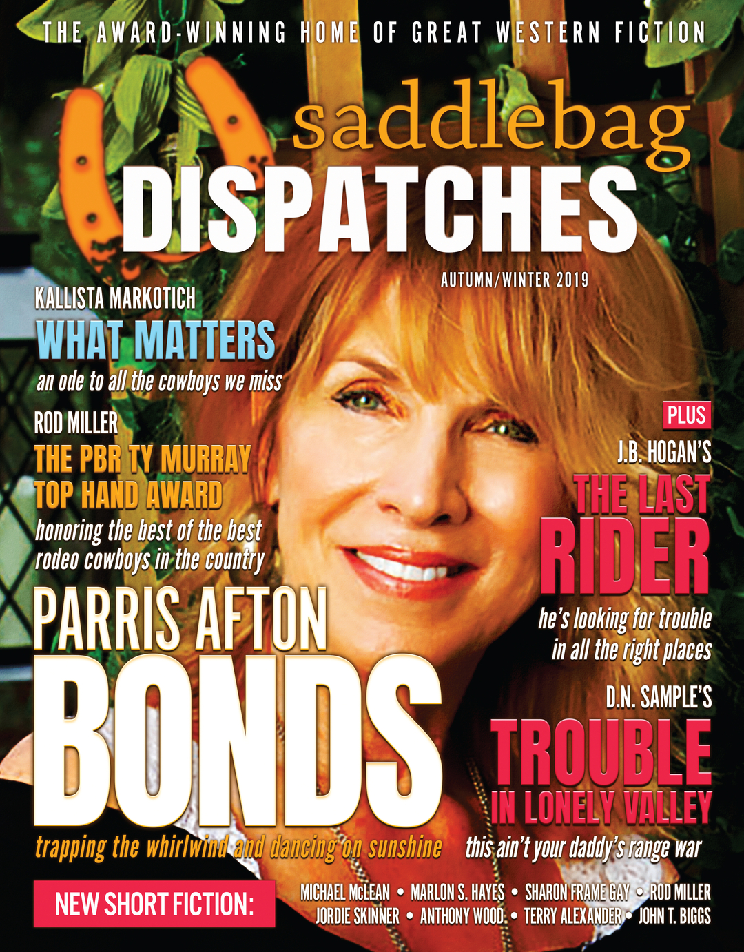 Page 1 of Saddlebag Dispatches—Autumn/Winter 2019
