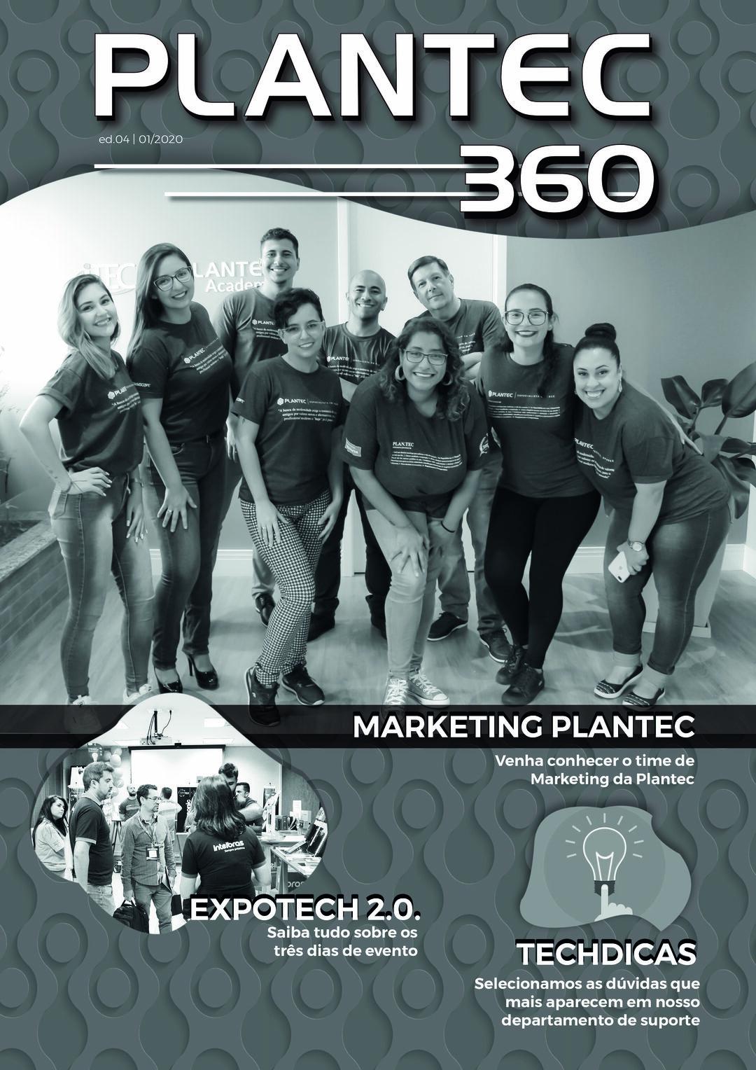 Page 1 of REVISTA PLANTEC 360 | 4ª EDIÇÃO