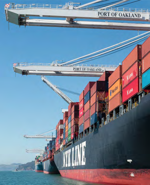Page 10 of Port of Oakland priorities and projects 2020