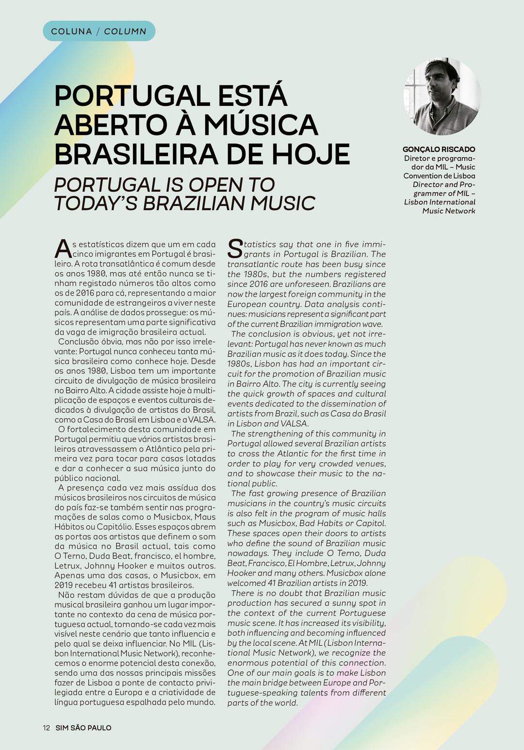 Page 12 of Coluna: Gonçalo Riscado