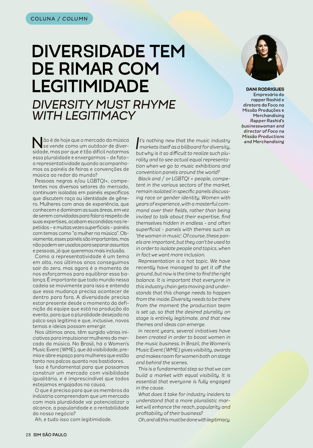 Page 28 of Coluna: Dani Rodrigues