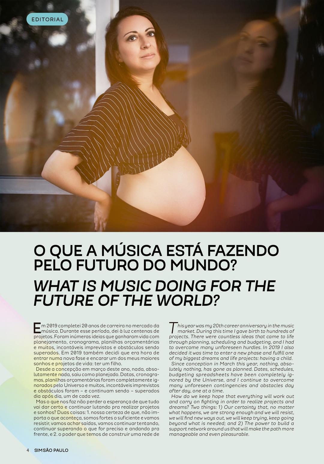 Page 4 of Editorial: Fabiana Batistela (Português)