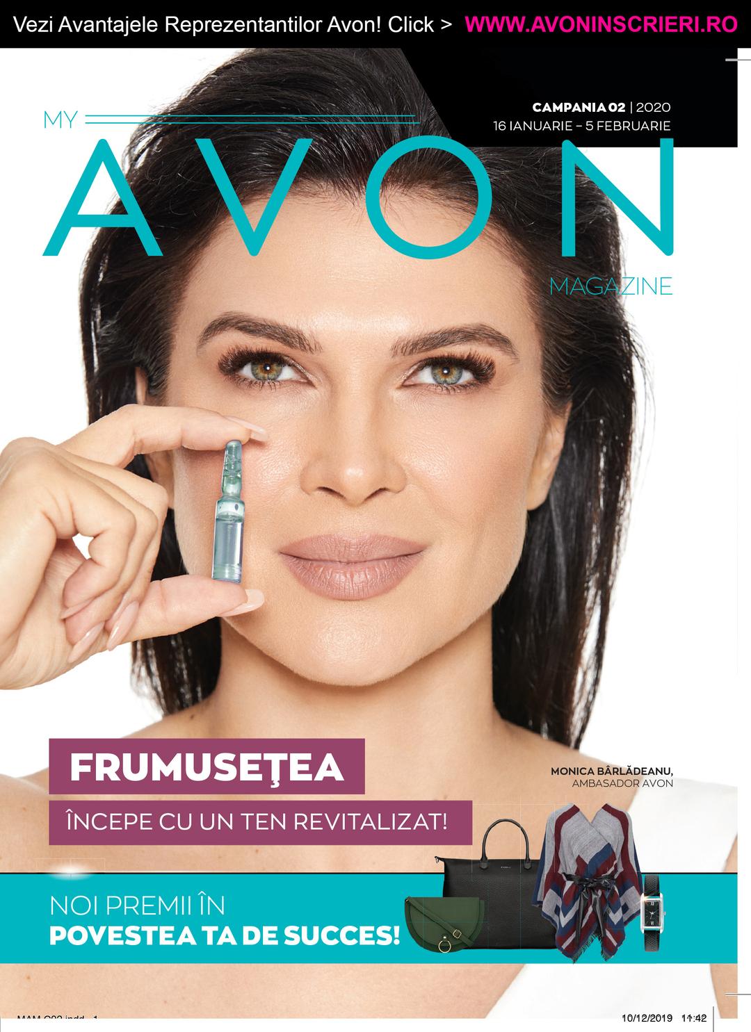 Page 1 of Revista My Avon Magazine C2 2020 - www.avoninscrieri.ro