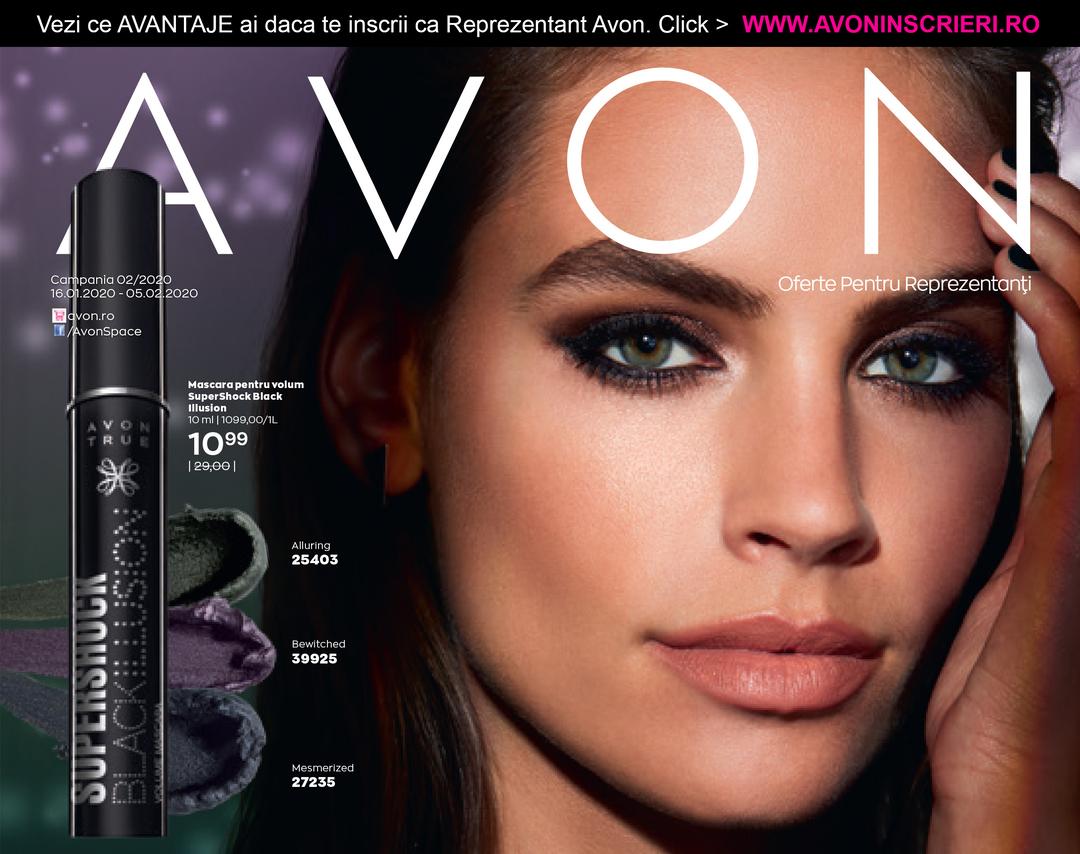 Page 1 of Oferta Reprezentanti Avon C2 2020 | AvonInscrieri.ro