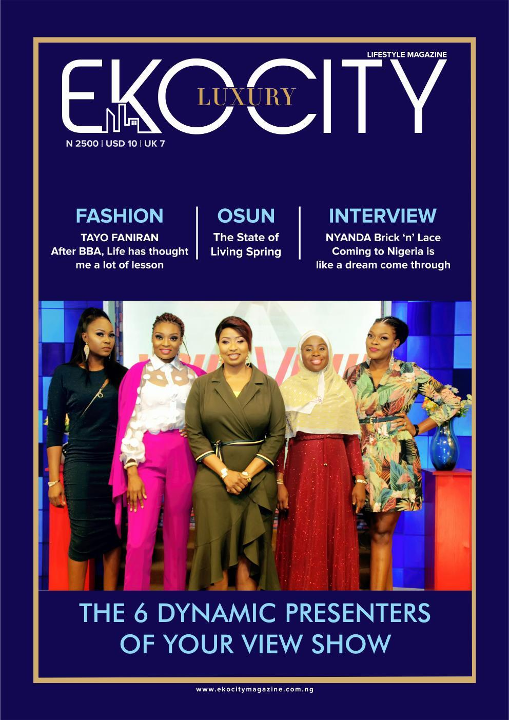 Page 1 of Meet the 6 Nigeria Presenters of your view show on TVC News