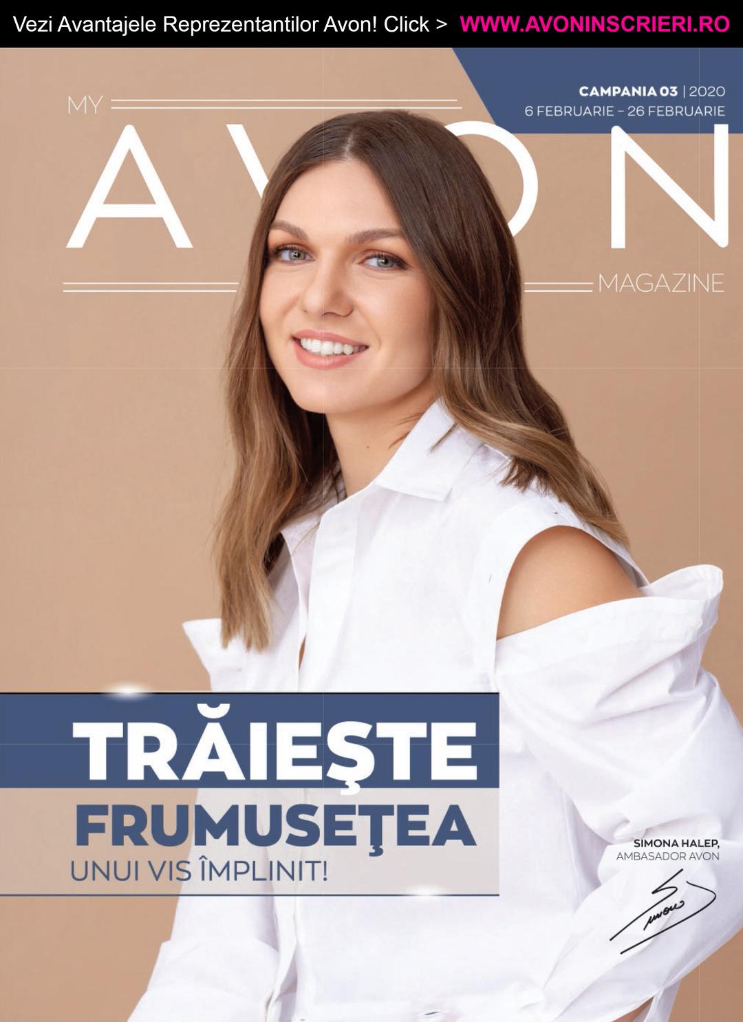 Page 1 of Revista My Avon Magazine C3 2020 - www.avoninscrieri.ro