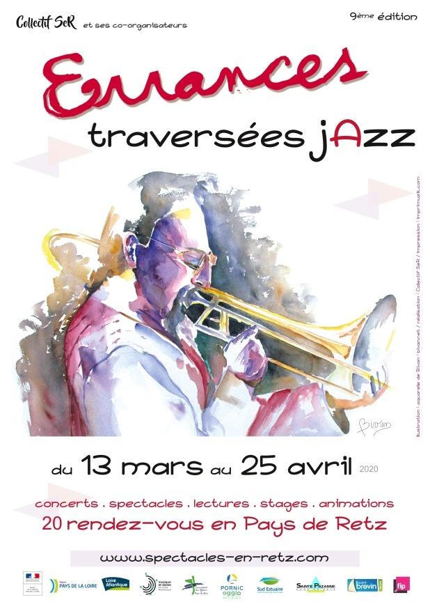 """Page 1 of Festival Errances 2020 """"Traversées Jazz"""""""
